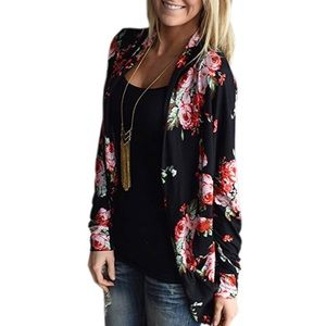 Boutique Sweaters - 🆕Aulani Floral Kimono